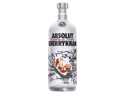 AbsolutCherryKranVodkaAlcoholicDrink