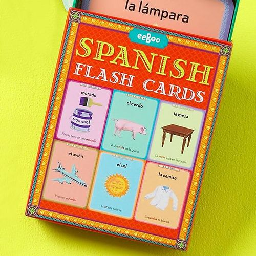 Spanish-flash-cards