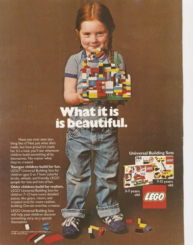 What is lego