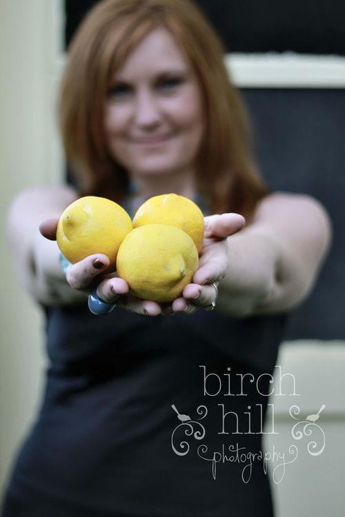 Lemons arty watermark
