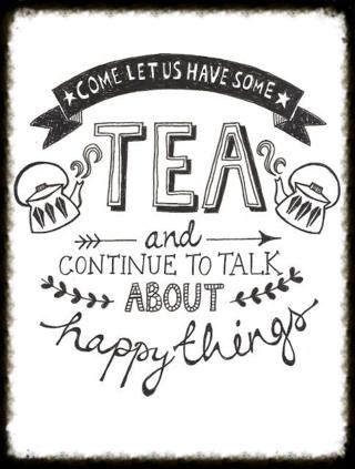 Tea poster