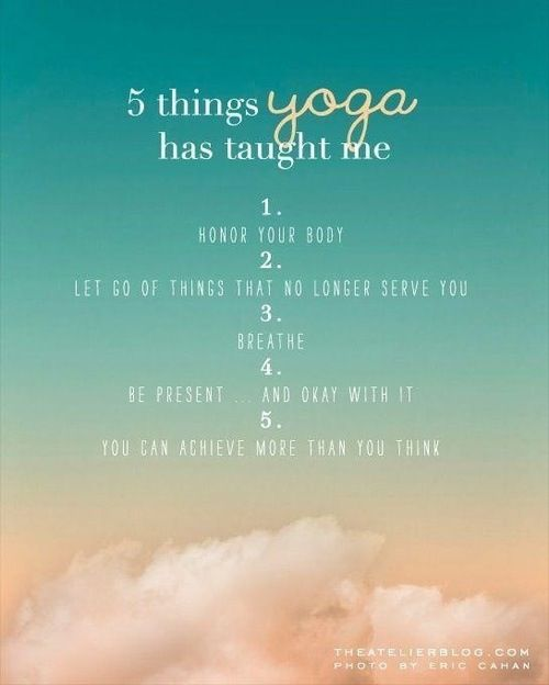 Yoga blog quote