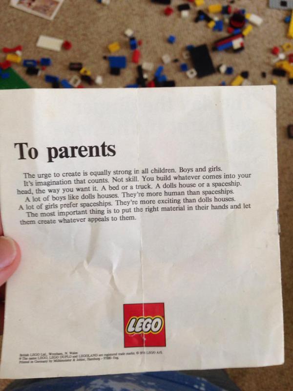 Lego instructins