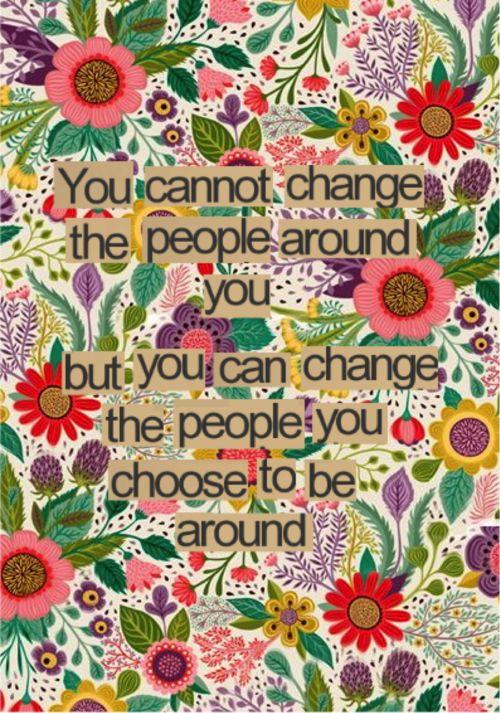 Choose good people